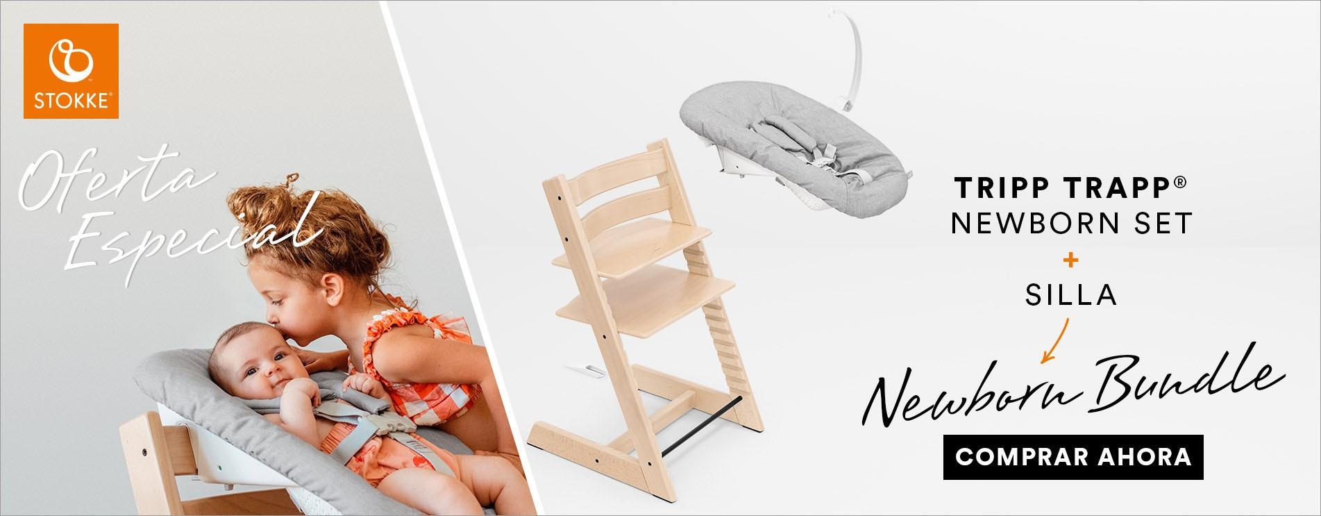 Bundle Stokke Tripp Trapp+Newborn set