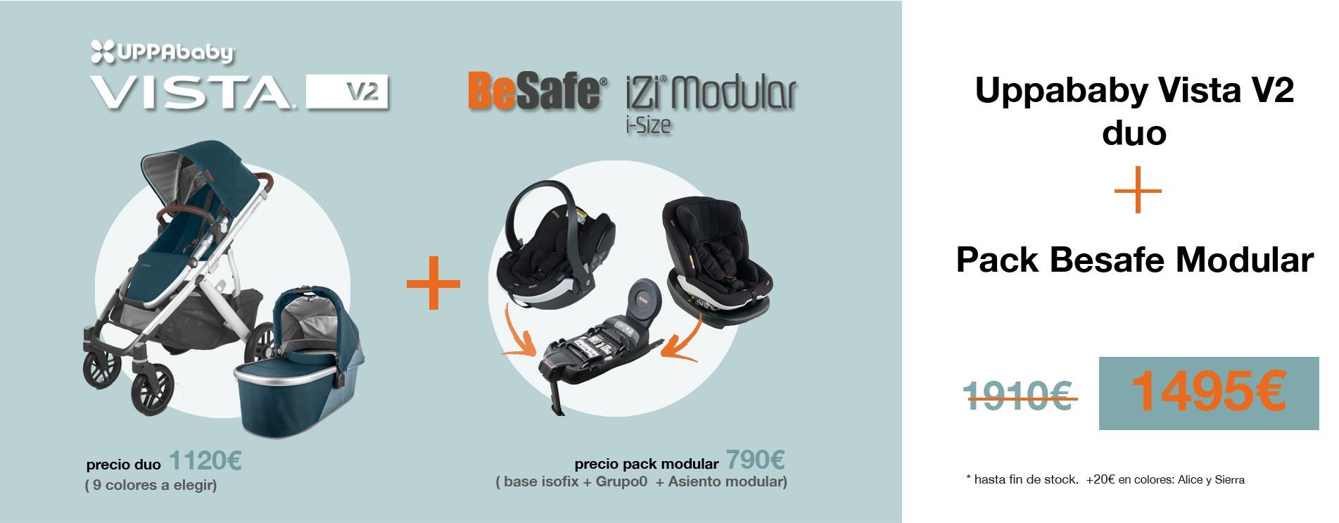 Promo Uppababy Vista + Besafe Modular